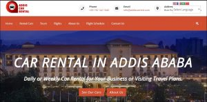 Addis Ababa car rental addiscarrent.com