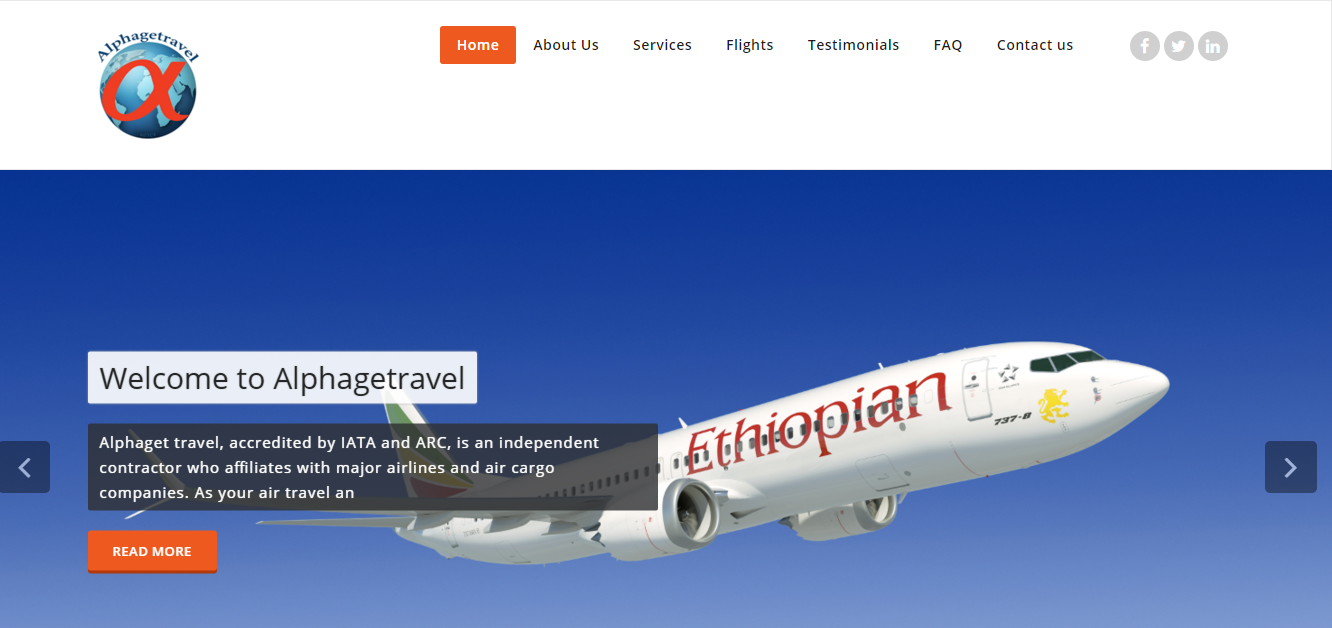 Alphaget Travel and Cargo Services