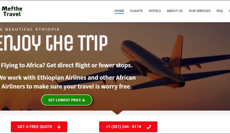 Ethiopian Travel Agency – MeftheTravel