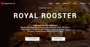 Royal Rooster Restaurant in Washington DC
